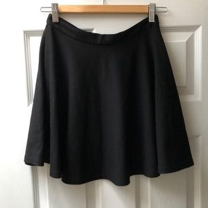 UO/ Coincidence & Chance Black Circle Skirt